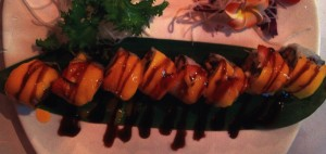 dish - mango maki