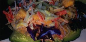 dish - mango salad